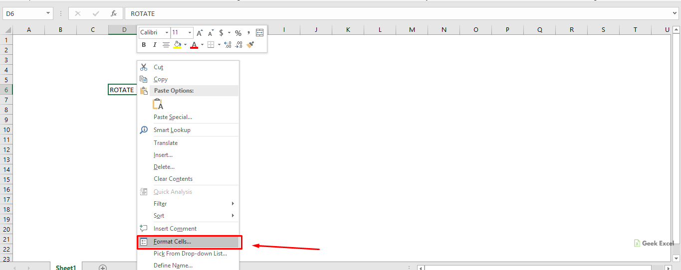 Rotate text in excel for mac download